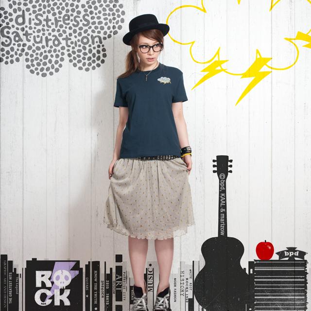 カミナリドクロ デザインTシャツ bpd marizow