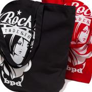 Rock エンブレム トートバッグ