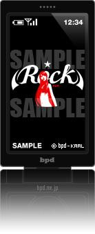bpd KAAL 携帯待受アート Venus Rock Black