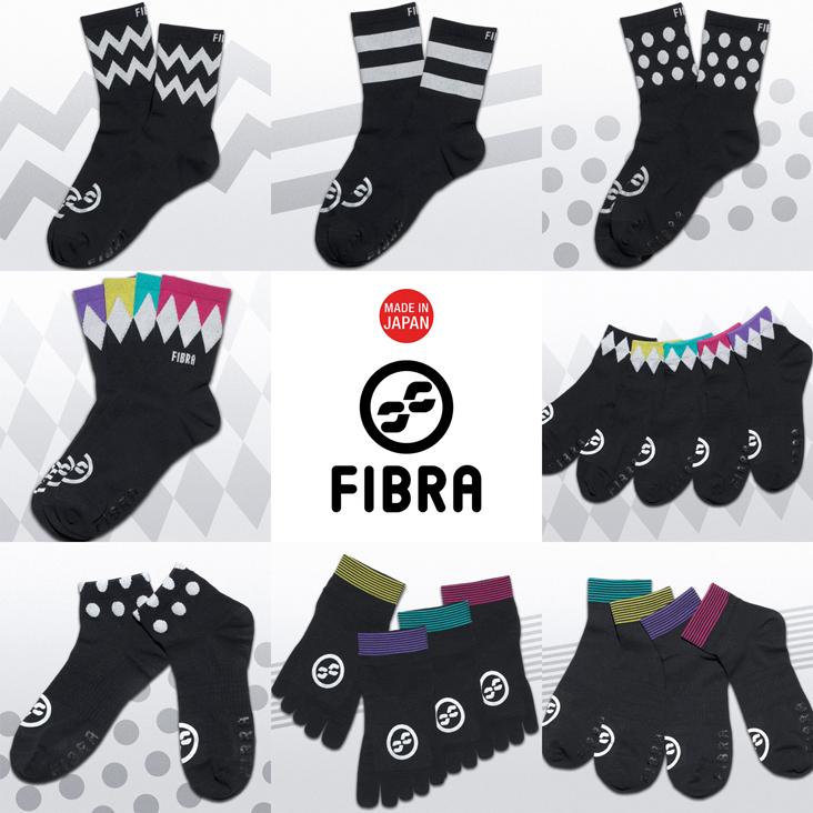 FIBRA x KAALコラボレーション ソックス