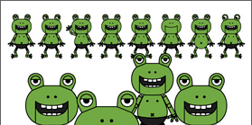 Frog and Trippers イラスト 3