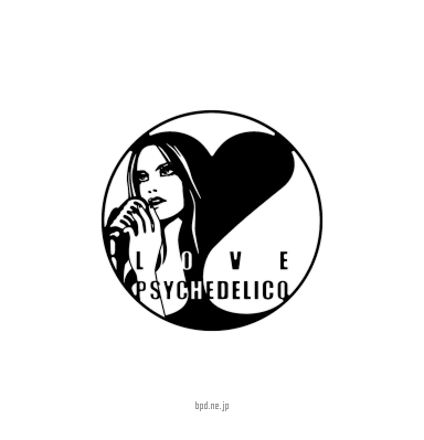 Love Psychedelico ラブサイケデリコ ロゴ シンボルマーク
