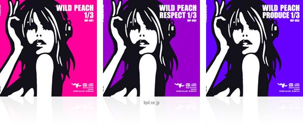 Wild Peach CDジャケット