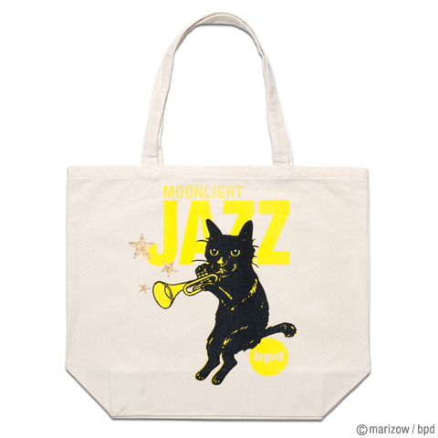bpd marizow 黒猫イラスト トートバッグ