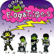 Frog & Trippers イラスト #2