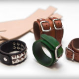 bpd kaal hand-made leather bracelet