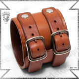 bpd KAAL leather bracelet live free