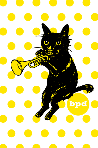 bpd marizow black cat jazz art