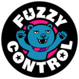 fuzzy control logo mark design