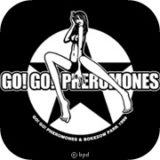 go go pheromones band logo mark