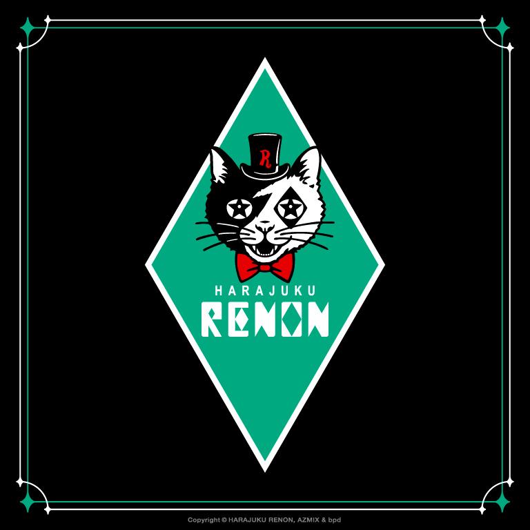 原宿RENON レノンくん ロゴ デザイン