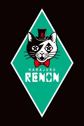 原宿RENON ダイヤ型 ブランドロゴ デザイン