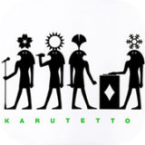 karutetto 1st single artwork design