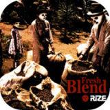 rize fresh blend poster design