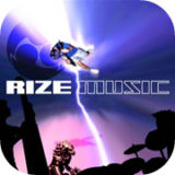 rize music single artwork design