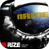 rize name single artwork design illustration