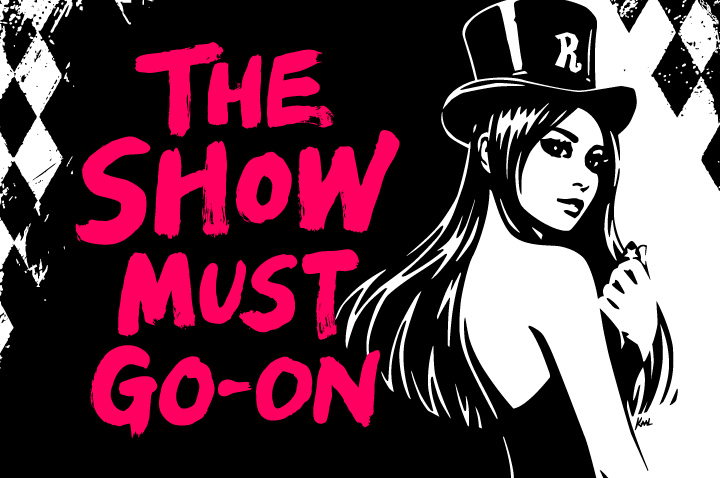 the show must go-on artwork