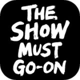 the show must go-on loogotype