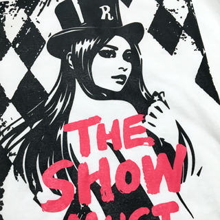 the show must go-on tee by kaal bpd
